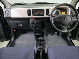 視点が高い運転席は、安全運転の手助けをします。