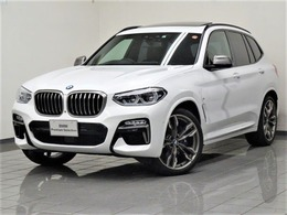 BMW X3 M40d ディーゼルターボ 4WD ブラックレザー パノラマガラスサンルーフ