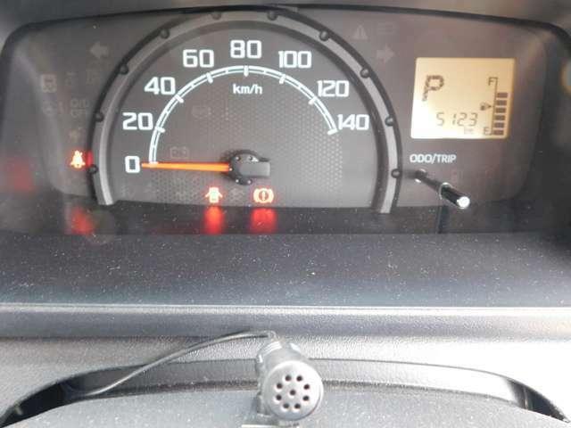 走行距離5123km!少!