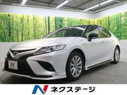 トヨタ カムリ 2.5 WS 禁煙車 TRDエアロ BSM セーフティセンス