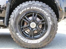 新品TOYOオープンカントリータイヤ&RAYZ FDXの組み合わせです!