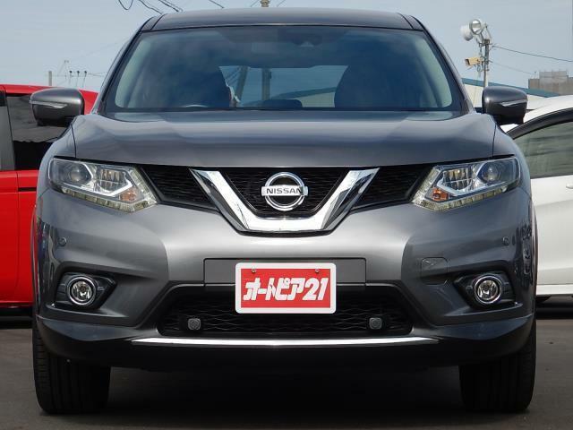 走行距離約51,080km!車検整備付♪アラウンドビューやパーキングアシスト、LEDヘッド等、メーカーオプション盛りだくさんの1台♪人気のエクストレイル 20X エマージェンシーブレーキパッケージ 4WDです♪