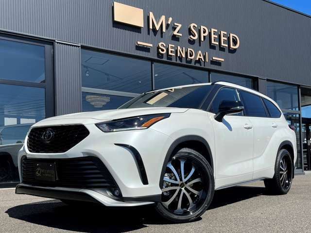 2021y US TOYOTA HIGHLANDER AWD XSE エアロボディ 20インチAW ブラックレザーシート LEDヘッドライト 逆輸入車