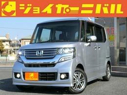ホンダ N-BOX+ 660 カスタムG ターボパッケージ 4WD ナビ クルコン 両側電動 スロ-プ付トランポ