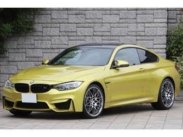 BMW M4クーペ M DCT ドライブロジック コンペティションパッケージ装着車 450PS 赤革 専用20AW ワンオーナー