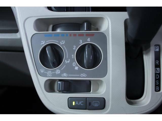 使いやすいレイアウトの空調スイッチ類です。 スイッチも大きく、気温に合わせて直感的に操作できます。