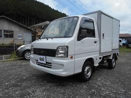 スバル サンバートラック 冷凍冷蔵車 デンソー冷凍機 4WD