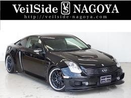 日産 スカイラインクーペ 3.5 350GT プレミアム ヴェイルサイドデモカー新品19AW新品車高調
