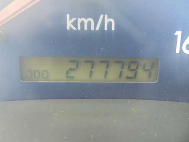 走行277,794キロ。