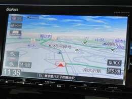 純正ナビ【VXM-185VFi】が装着されています!これで未開の地もスイスイ♪しかも電話回線を通じてタイムリーに交通情報をナビ画面に反映します!そして通信料はホンダが負担します♪
