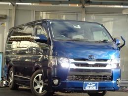 トヨタ レジアスエース 2.0 スーパーGL ロングボディ 現行フェィス LD アルミ ベッド ナビ