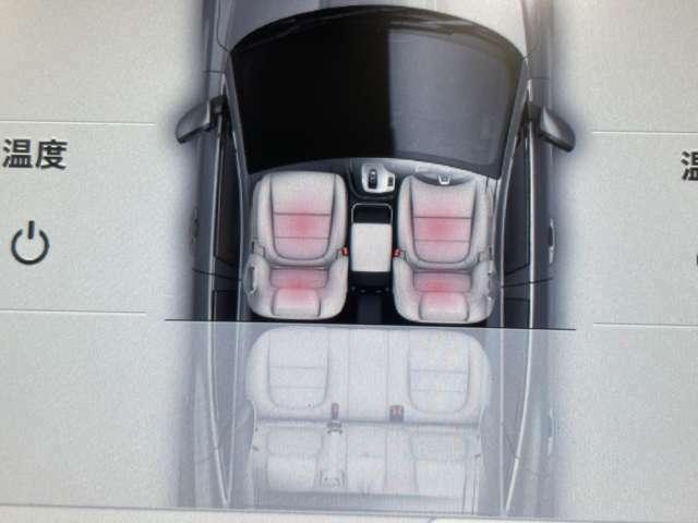 運転席&助手席にメモリー機能を追加し、オプションでヒーター機能が設定されています。