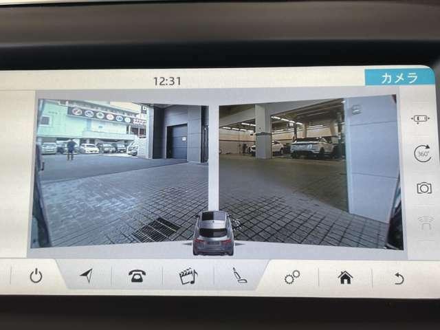 ドライバーサポート機能はSグレードでは360°パーキングエイド、リバーストラフィックディテクション、パーキングアシストがセットになったパーキングパックを装備しています。