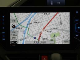【10型サイバーナビ】bluetoothや大画面でフルセグTVの視聴も可能です☆高性能&多機能ナビでドライブも快適ですよ☆