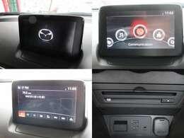 お出掛けに嬉しい、純正SDナビ付きです♪CD/DVDビデオ再生機能・Bluetooth機能も装備しております♪