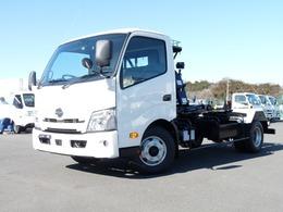 日野自動車 デュトロ 4t・ワイド・新明和製アームロール スマートキー・PCS・LDWS