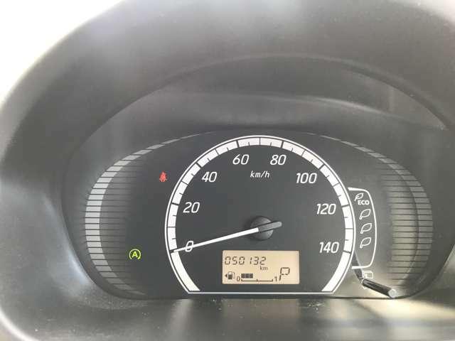 シンプルで大きく見やすいスピードメーターです♪