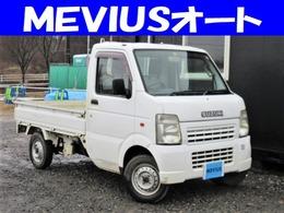 スズキ キャリイ 660 KCエアコン・パワステ 3方開 4WD 5MT・シートカバー付き・タイミングチェ-ン