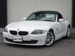 BMW Z4 ロードスター2.5i 後期 本革 HID シートヒーター 純17AW