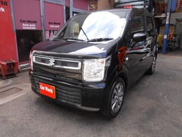 スズキ ワゴンR 660 ハイブリッド FX セーフティパッケージ装着車 ナビTV ETC LED アルミ  1オーナー