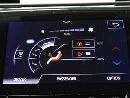 快適温熱シート(運転席・助手席)やステアリングヒーターが装備され快適なドライブをサポートします。