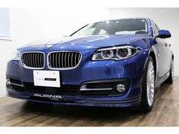 正規ディーラー車 2016年モデル BMW ALPINA D5 右ハンドル アルピナブルーメタリック/ブラックレザー