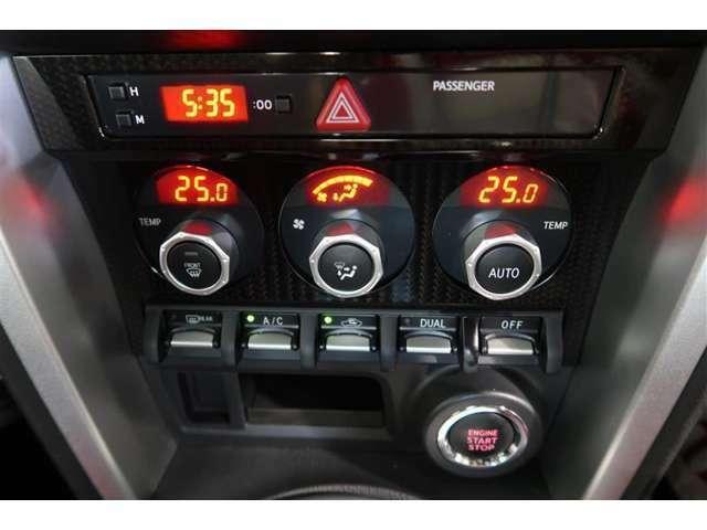 室内を快適温度に保つオートエアコン装備しています