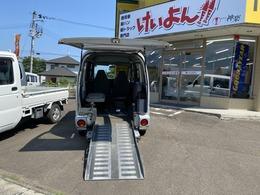 三菱 ミニキャブバン 福祉車輛