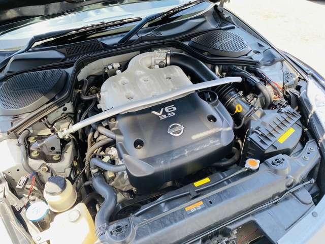 ★エンジンルームはご覧の通り、エアクリーナーですらノーマル部品のままとなっております。弊社の自社認証工場にて油脂類の交換を始め、一通り整備を行ってご納車致します★