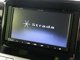 【社外SDナビ】使いやすいナビで目的地までしっかり案内してくれます。CD/DVDの再生もでき、お車の運転がさらに楽しくなりますね!!