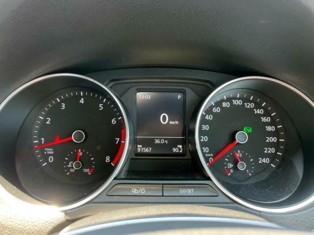 マルチファンクションディスプレイで気温や燃費、走行距離などのデータを確認できます。