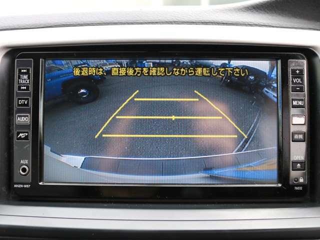 バックカメラ完備!大きい車輛で駐車が心配だと思う方もご安心下さい!