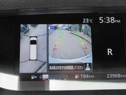 専用アラウンドビューカメラ付き♪ 車を上空から360°確認できるような作りとなっております♪