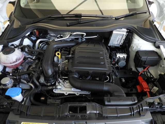 ☆直列1.0L TFSIエンジンは95PS/16.3kgmを発揮します☆