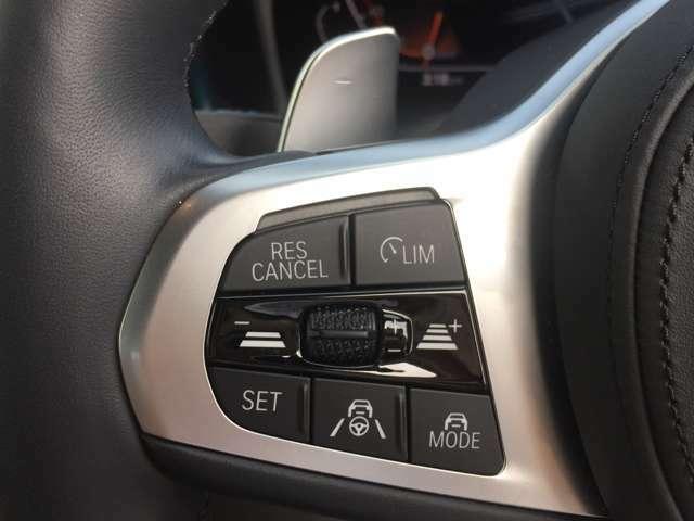 ACC【追従式クルーズコントロール】が装備されており、高速道路などの長時間の運転をサポートします。安全性や快適性を高める革新的ドライバー支援システムです!