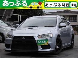 三菱 ランサーエボリューション 2.0 GSR X 4WD ブリッツ車高調 HKSマフラー F・Sエアロ