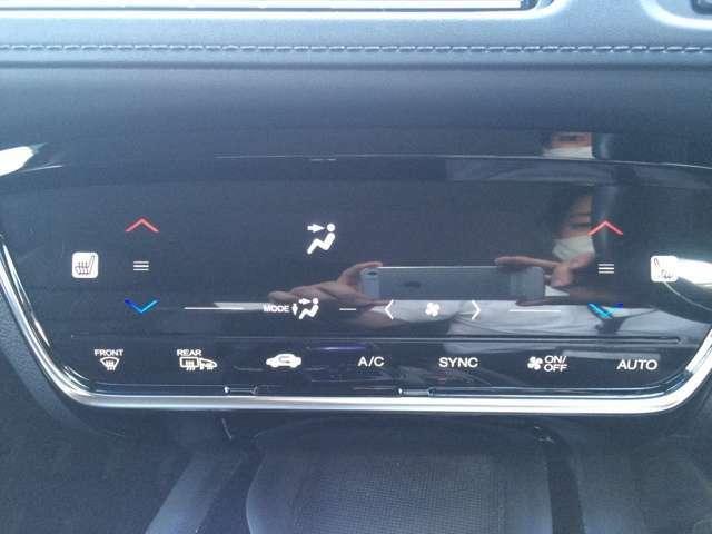 タッチ式エアコンパネルでスマートかつ操作もオートエアコンでワンタッチ!!