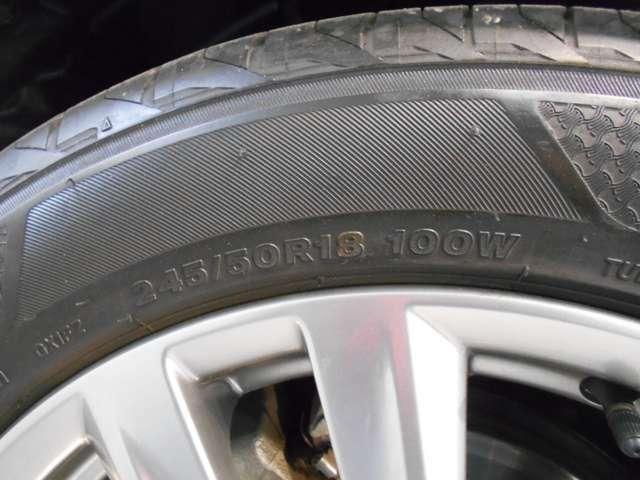 タイヤ・ホイールの画像です。