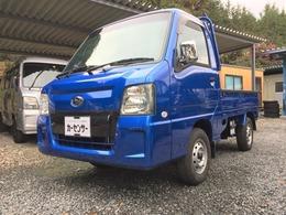 スバル サンバートラック 660 WRブルー リミテッド 三方開 4WD 4WD キーレス