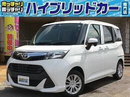 トヨタ タンク 1.0 X S 社外メモリナビ バックモニター