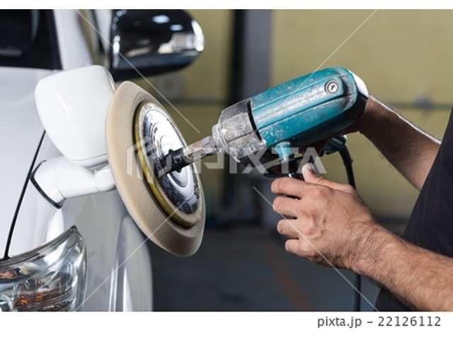 Bプラン画像:ガラスコーティング施工後のご納車になります。下地磨き、コーティング施工をいたします。納車後のお手入れも楽々です。