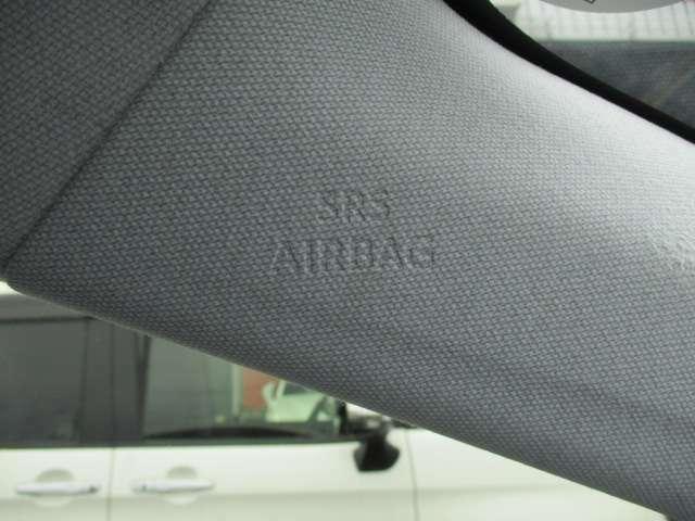 万一の衝突時に乗員の傷害を最小限に抑えるエアバッグは合計8個も装備しています!