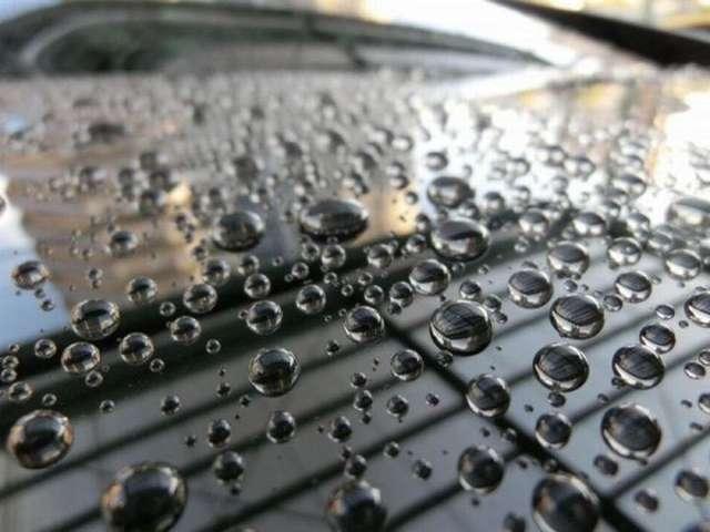Aプラン画像:ガラスコーティングで水弾きバッチリです。
