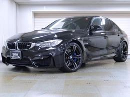 BMW M3セダン M DCT ドライブロジック 黒革 パーキングサポートP 19AW
