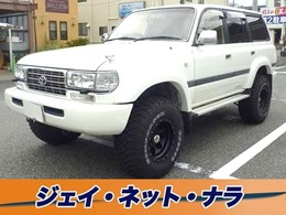 トヨタ ランドクルーザー80 4.2 VX ディーゼルターボ 4WD リフトアップ アルミホイール サンルーフ