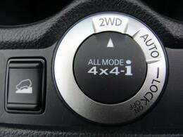 4WDを装備。力強い4WDは悪路の走行も可能です。