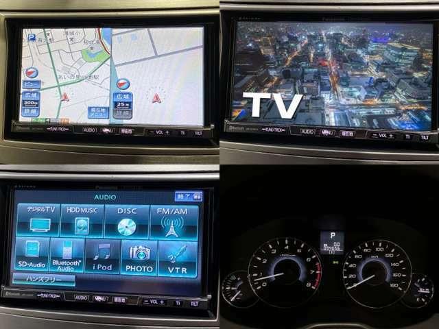 社外HDDナビ(型番CN-HW830D)になります。音楽データ再生機能、DVDビデオ再生機能が付いています。