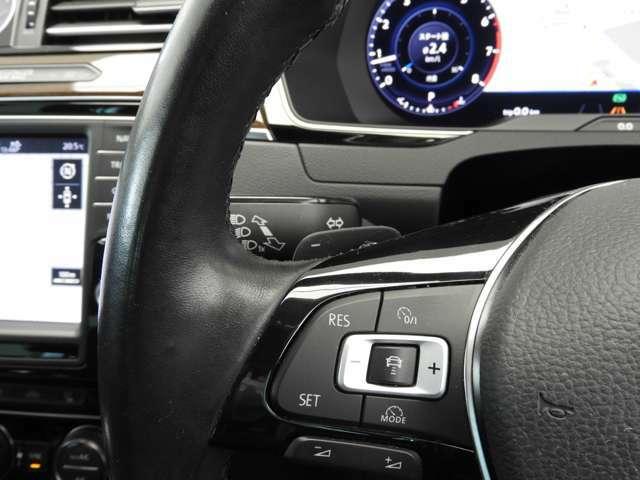 """☆アダプティブクルーズコントロール""""ACC""""(全車速追従機能付):クルーズコントロールにレーダーセンサーを組み合わせたシステムです☆"""