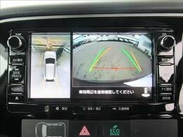 上から見たような映像で駐車時も楽々【フルカラーバックモニター】装備で初心者の方でも安心。