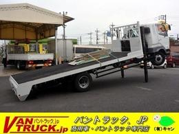 三菱ふそう ファイター ワイド増トン ハイジャッキ ウインチ 重機運搬 7.4t